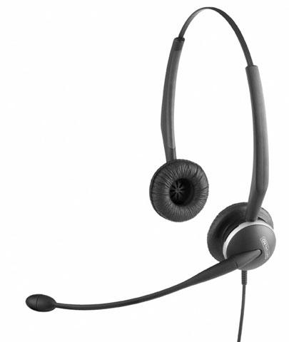 Jabra GN 2100 Duo Flex Boom, For hearing-aid wearers, NC, QD