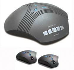 Беспроводной телефонный аппарат для аудиоконференции Konftel 60W с внешними микрофонами